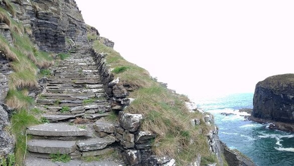 Whaligoe steps in Wick