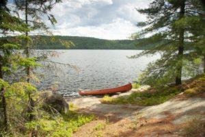 lake kayaking