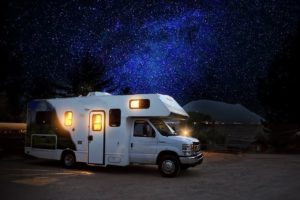 rv parking caravaning